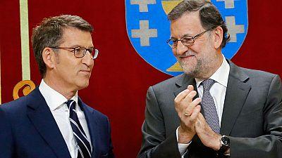 Rajoy estrena agenda en Galicia para arropar a Feijóo