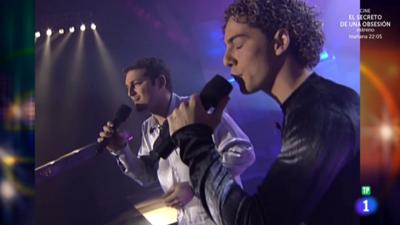Lo mejor de Operación Triunfo 1 - Manu Tenorio y David Bisbal cantan 'Lucía'