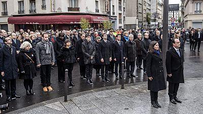 Francia rinde homenaje a las víctimas de los atentados de París un año después