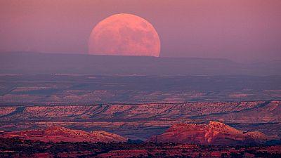 Desde hace 68 años no se contemplaba tan cerca la Luna Llena