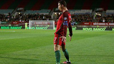 Cristiano Ronaldo suma ya 68 goles con Portugal y es el jugador en activo que más goles ha marcado con su selección. Su doblete a Letonia demuestra que con su selección no falla.