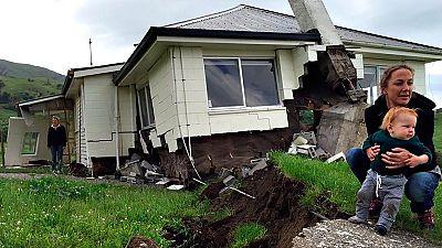 Cientos de réplicas siguen sacudiendo Nueva Zelanda mientras se cuantifican los daños del terremoto