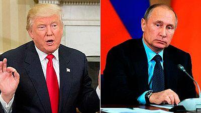 """Elecciones EE.UU. 2016 - Trump y Putin hablan por teléfono y acuerdan """"normalizar"""" las relaciones entre EE.UU. y Rusia"""