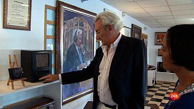 Luis del Olmo nos abre su Museo de la Radio en Roda de Berà,Tarragona