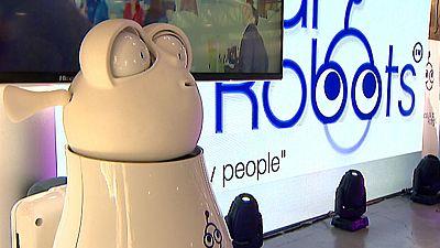 Feria de inteligencia artificial en Madrid