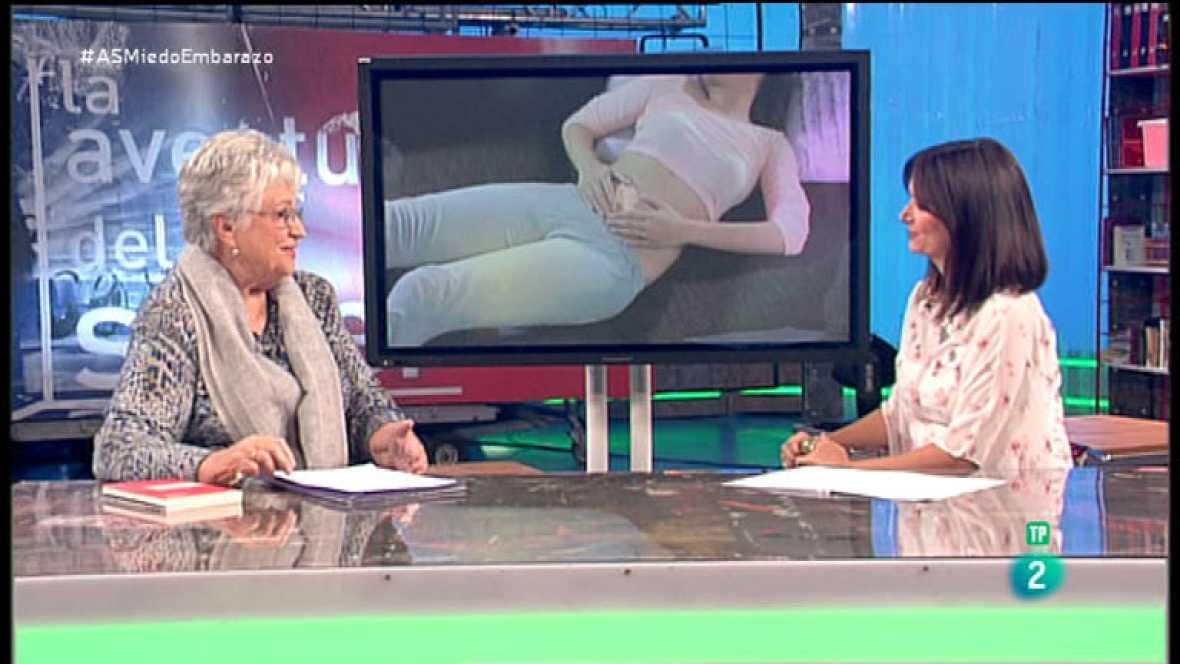 La Aventura del Saber. TVE. Taller de maternidad. Lucila Andrés. Los miedos y la ansiedad en el embarazo