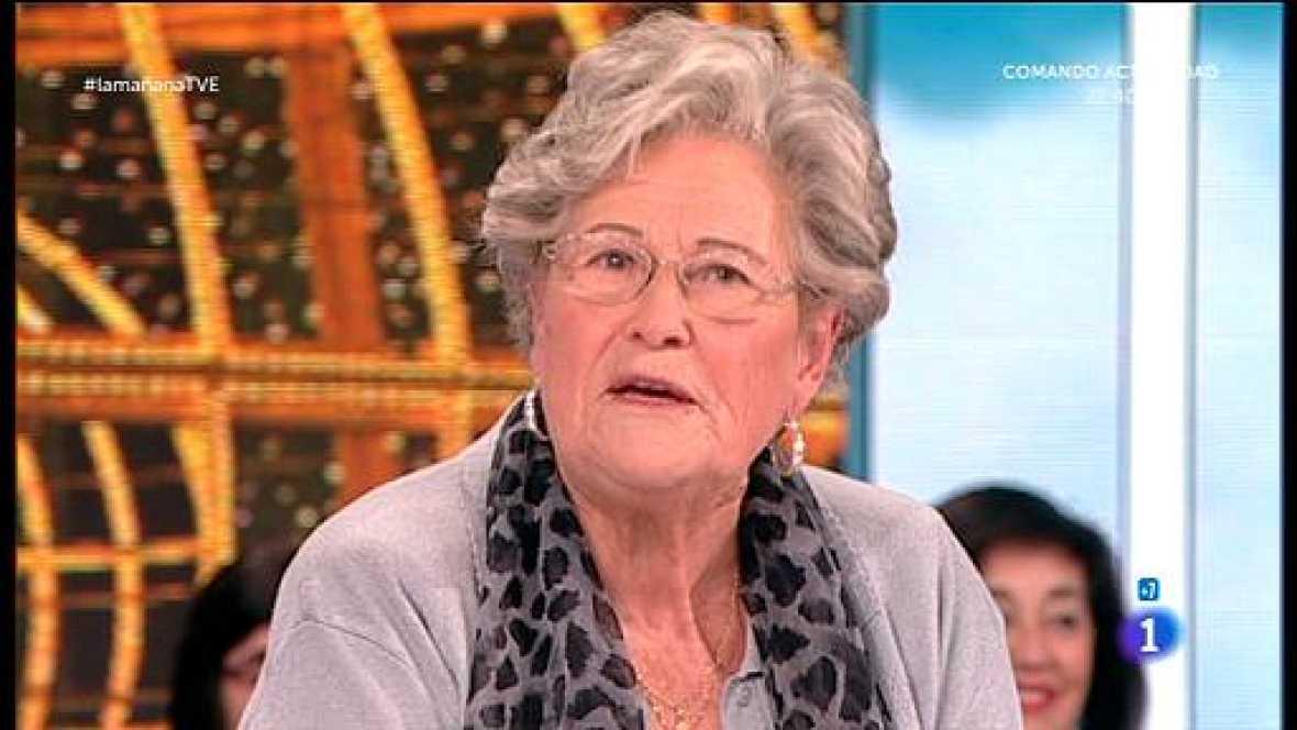 Nos visita la abuela del anuncio de la Loteria