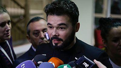 Rufián acusa a un diputado del PSOE de usar un vídeo contra él sabiendo que era falso
