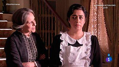 Seis Hermanas - Rosalía y Benjamín advierten a Elpidia y Raimundo