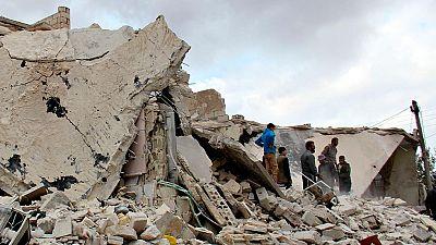 Las bombas vuelven a caer sobre Alepo