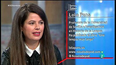 La Aventura del Saber. TVE. Taller de español. Lola Pons. Los nombres de pila.