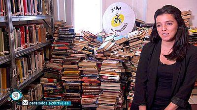 """Para Todos La 2 - Solidaridad. A veces nos preguntamos qué hacer con esos libros que tenemos en casa """"criando polvo""""¿verdad?"""