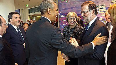 El presidente de EE.UU. aborda con los líderes europeos el futuro de las relaciones transatlánticas