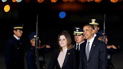 Obama asiste en Perú a la cumbre de la APEC