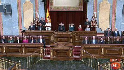 Parlamento - Elfoco parlamentario - Apertura solemne XII Legislatura - 19/11/2016