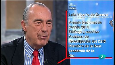 La Aventura del Saber. TVE. Taller de escritura. Luis Alberto de Cuenca. La poesía
