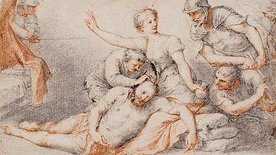 Llega al museo del Prado una colección de dibujos del pintor José de Ribera