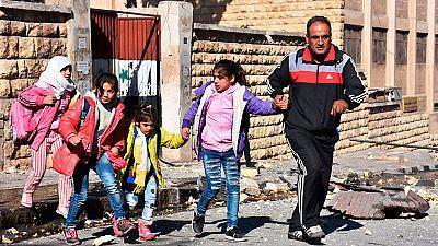 Los últimos bombardeos sobre Alepo dejan una quincena de niños muertos
