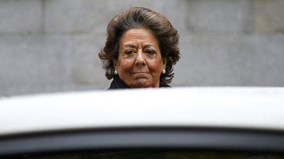 Rita Barberá reconoce haber donado 1.000 euros al PP y remite al Comité de Campaña de 2015
