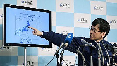 Un fuerte terremoto de 7,4 sacude la costa este de Japón