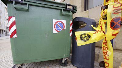 La Ertzaintza localiza a una bebé con vida en un contenedor de basura en San Sebastián