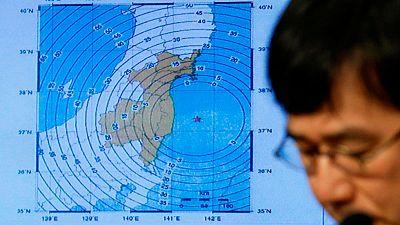 Un terremoto de 7,4 de magnitud sacude Japón frente a la costa de Fukushima