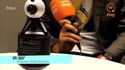 Experiencia piloto periodismo móvil - Cómo se hizo - Entrevista a Hiroaki Miyamoto en 360