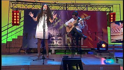La Aventura del Saber. TVE. Actuación musical. Arahí Martínez