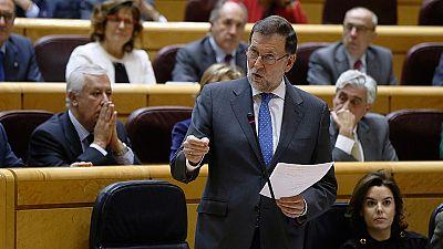 """Rajoy, a los independentistas: """"Nadie está legitimado para saltarse la ley a la torera"""""""