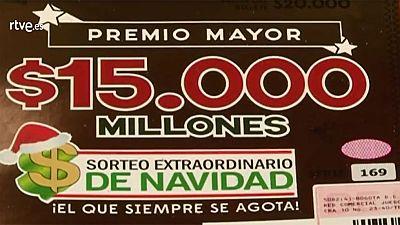 Colombia celebra su propio sorteo de Lotería de Navidad