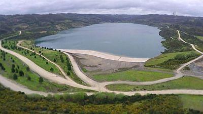 Una antigua mina a cielo abierto abastecerá de agua a la población de A coruña