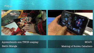 Experiencia piloto periodismo móvil - Cómo se hizo - Aprendiendo con TWIN Cosplay