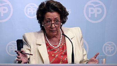 El PP destaca la trayectoria política de Rita Barberá