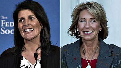 Donald Trump incluye a dos mujeres en su equipo de gobierno