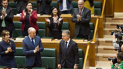 """Urkullu tiende la mano a la oposición para unir fuerzas """"al servicio de Euskadi"""""""