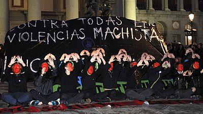 Movilizaciones en más de 50 ciudades españolas contra la violencia de género