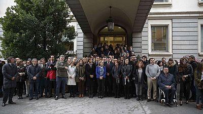 Rajoy hace un llamamiento para seguir combatiendo la violencia de género