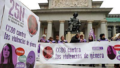13 millones de mujeres sufren violencia de género en Europa