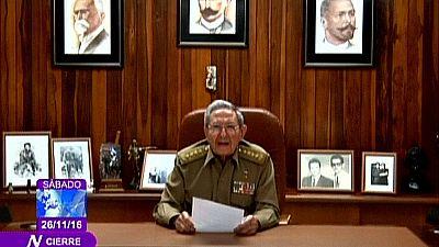Así ha anunciado Raúl Castro en televisión la muerte de Fidel