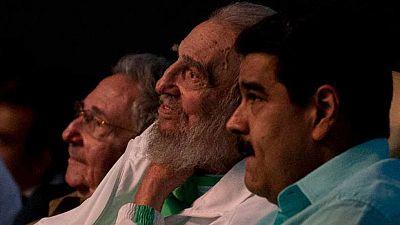Líderes políticos de todo el mundo expresan sus condolencias por la muerte de Castro