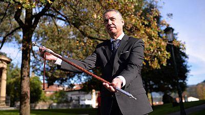 Iñigo Urkullu jura su cargo como lehendakari
