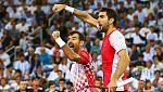 Croacia gana el partido de dobles de Davis