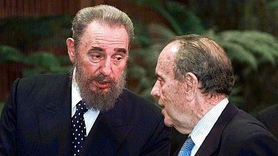 Cuando Fidel Castro visitó la casa de su padre en Galicia