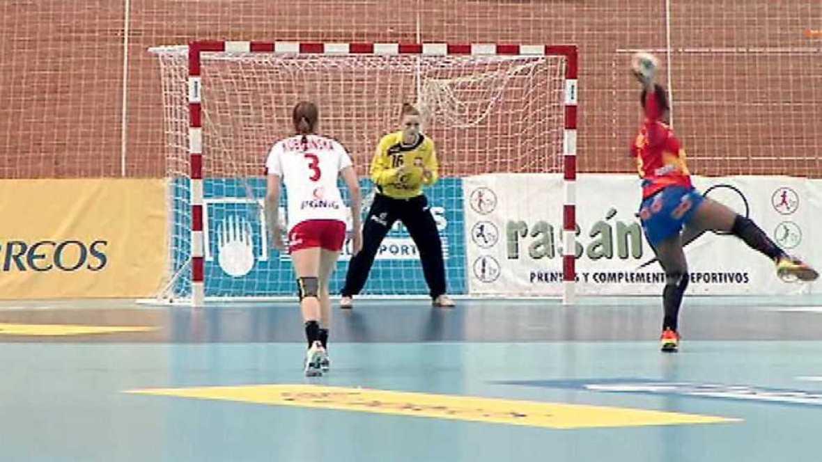 Balonmano - Torneo Internacional de España, Femenino: España - Polonia. Desde Elda (Alicante) - ver ahora