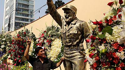 Homenajes a Castro en buena parte del planeta