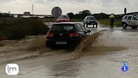 Inundaciones y destrozos por la lluvia