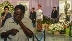 Miles de cubanos se despiden de Fidel Castro en La Habana