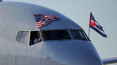 Inaugurada la ruta aérea regular Miami-La Habana
