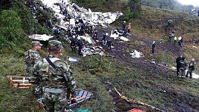 La ausencia de fuego en el avión que se estrelló en Colombia apunta a un problema con el combustible