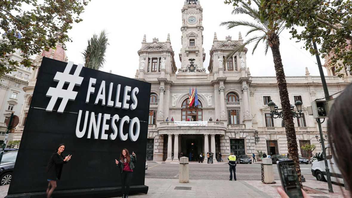 Las Fallas de Valencia, declaradas Patrimonio Inmaterial de la Humanidad por la Unesco